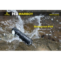 XTAR. WARBOY… POWERFUL HEADLAMP